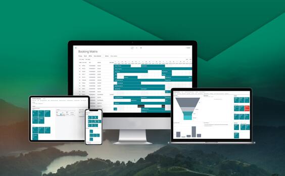 EliteParks web-based platform